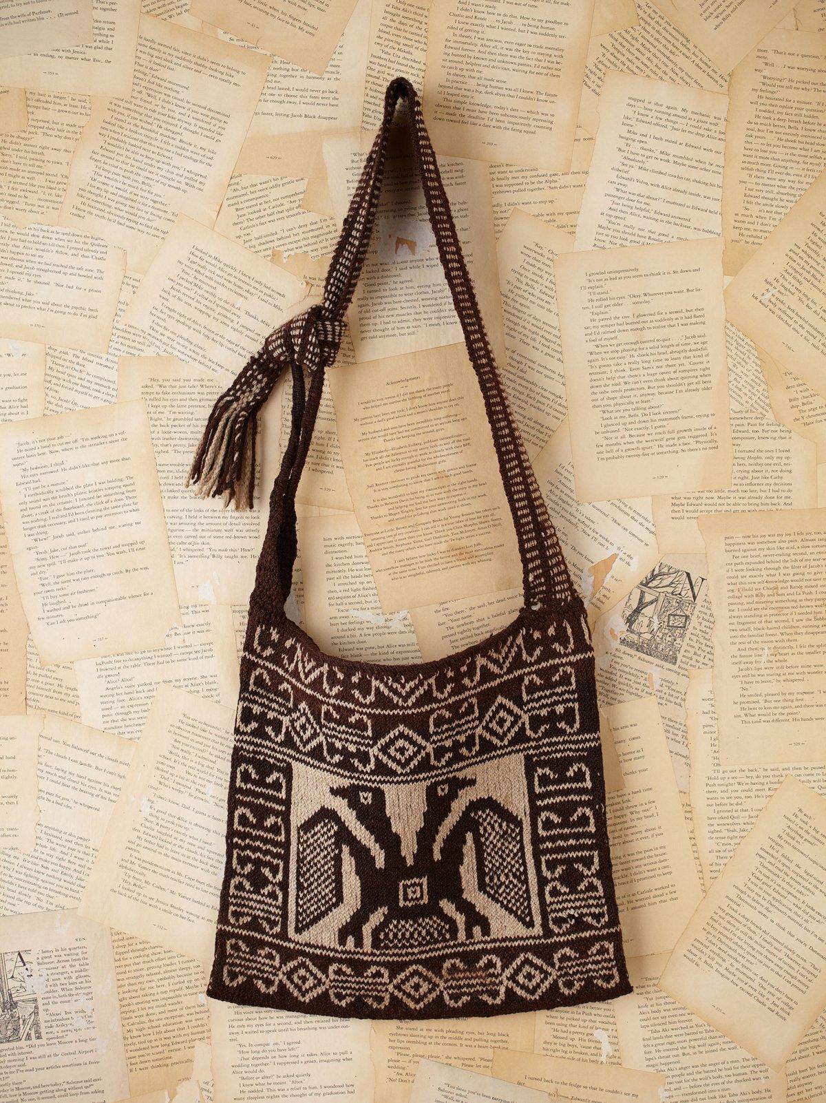 Vintage Guatemalan Woven Bag