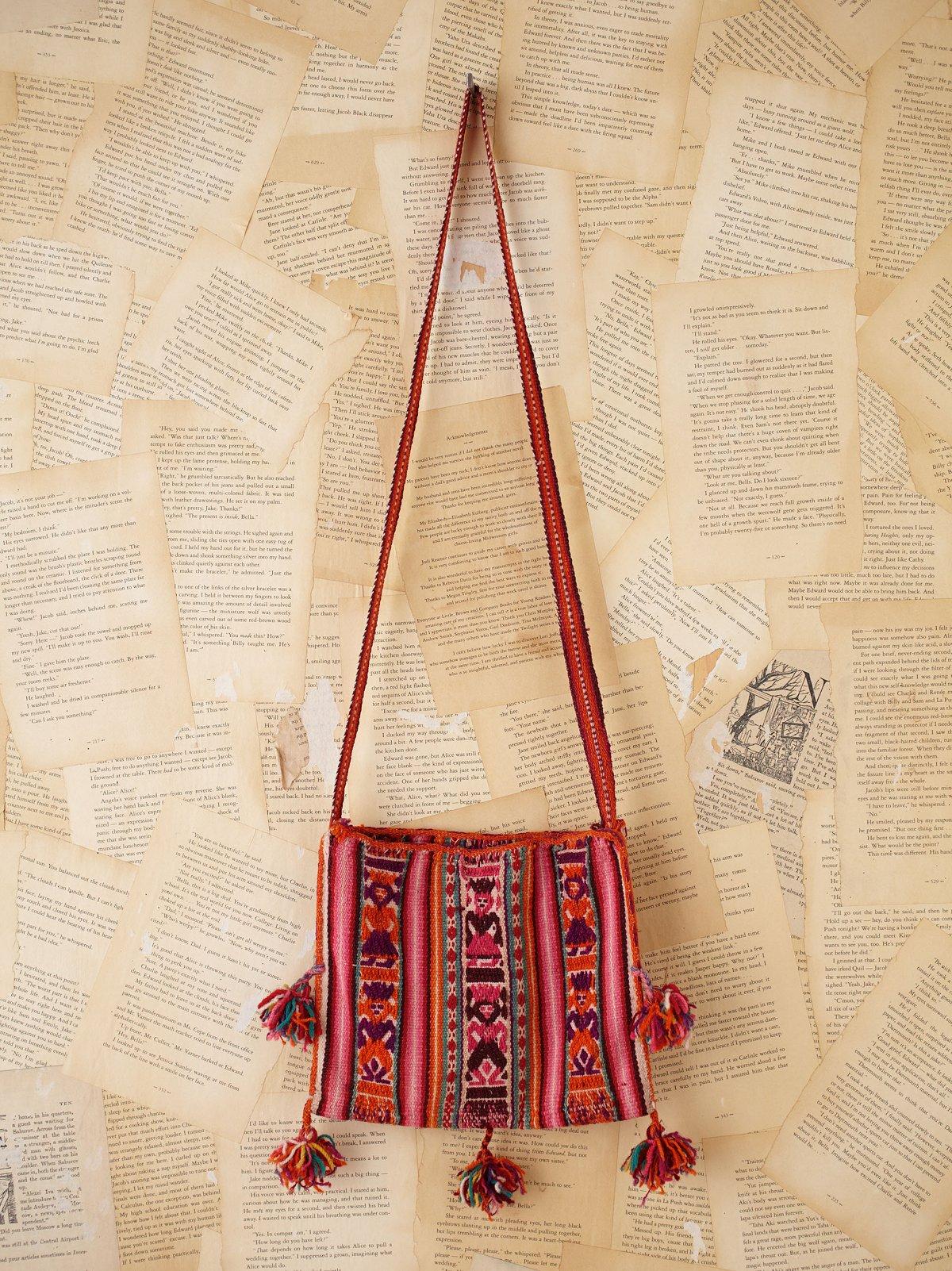 Vintage Bolivian Woven Bag