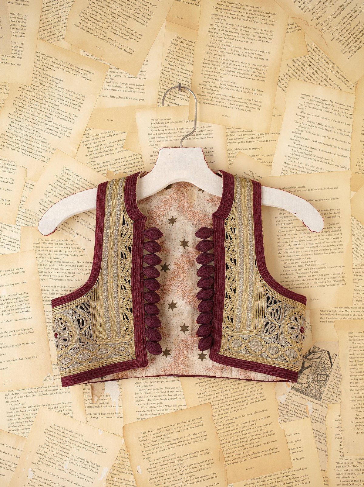 Vintage Costume Vest