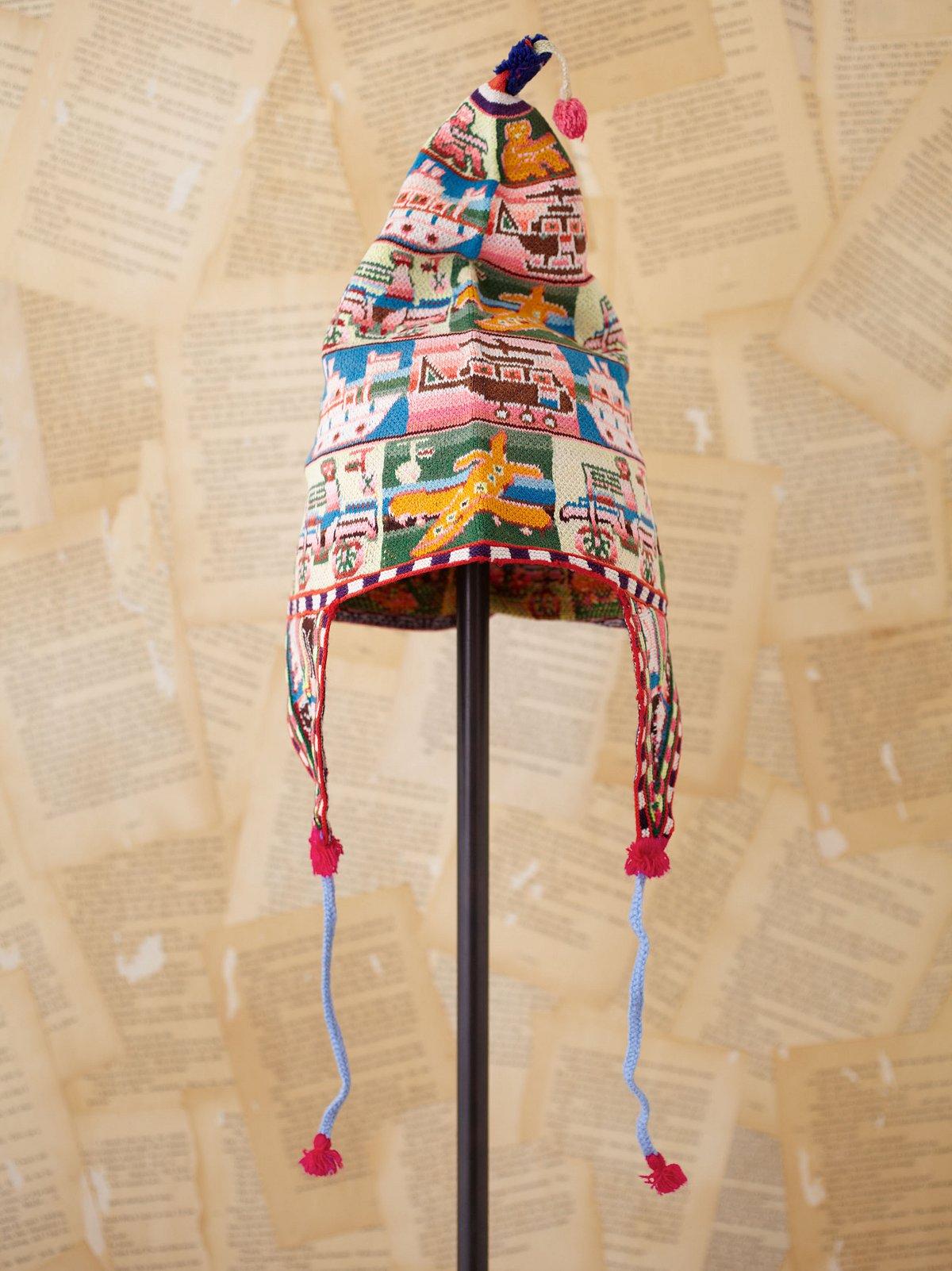 Vintage Bolivian Woven Hat