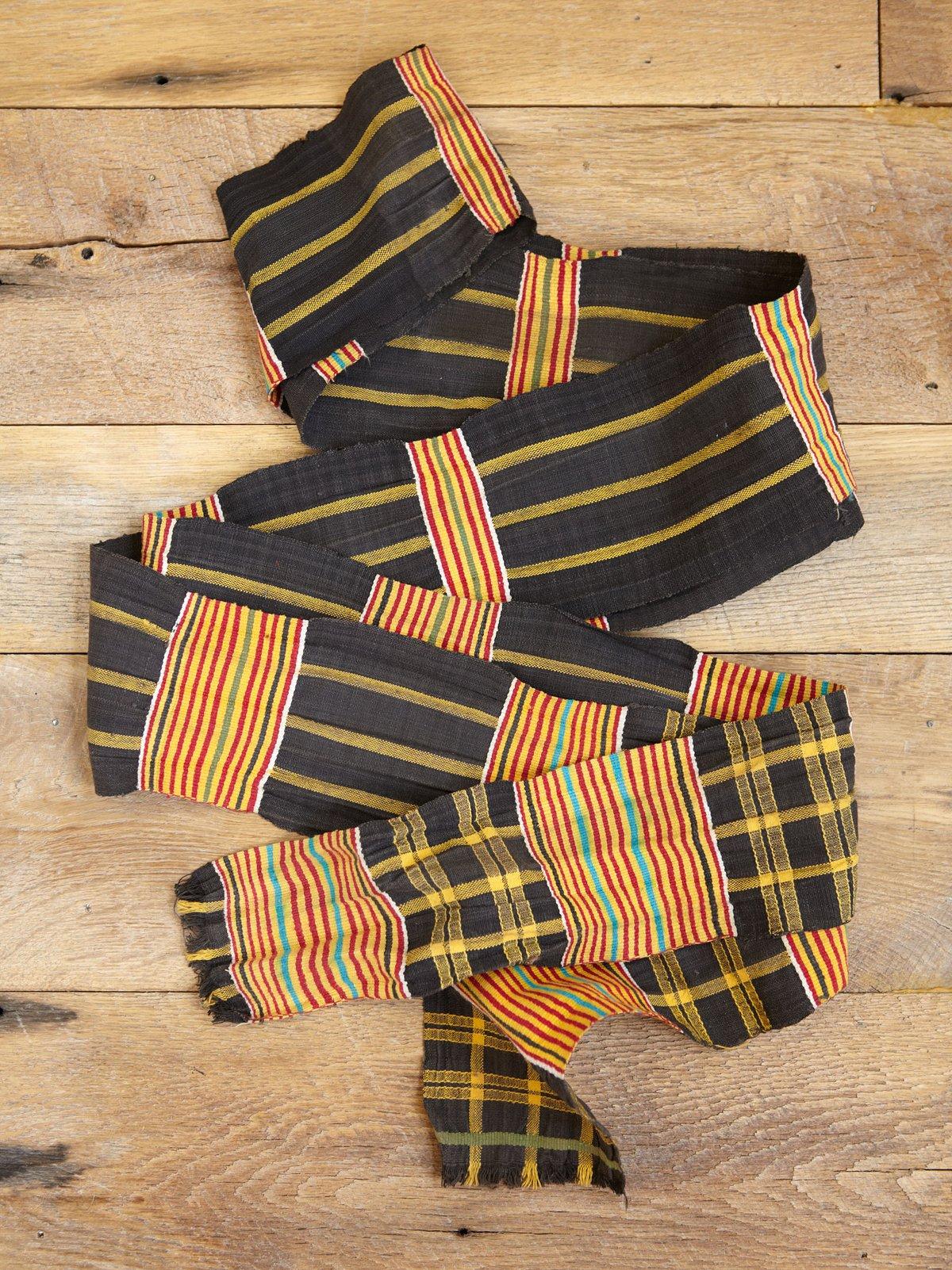 Vintage Maasi Woven Belt Sash