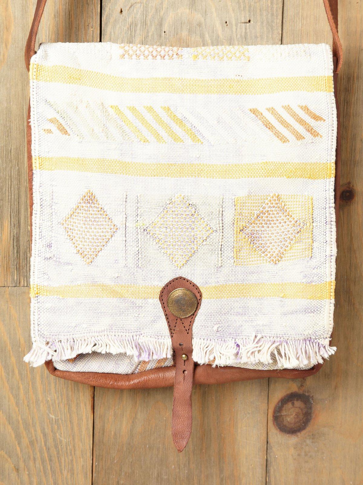 Vintage Blanket Satchel