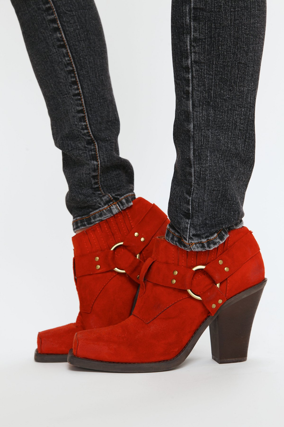 Rumi Square Toe Ankle Boot