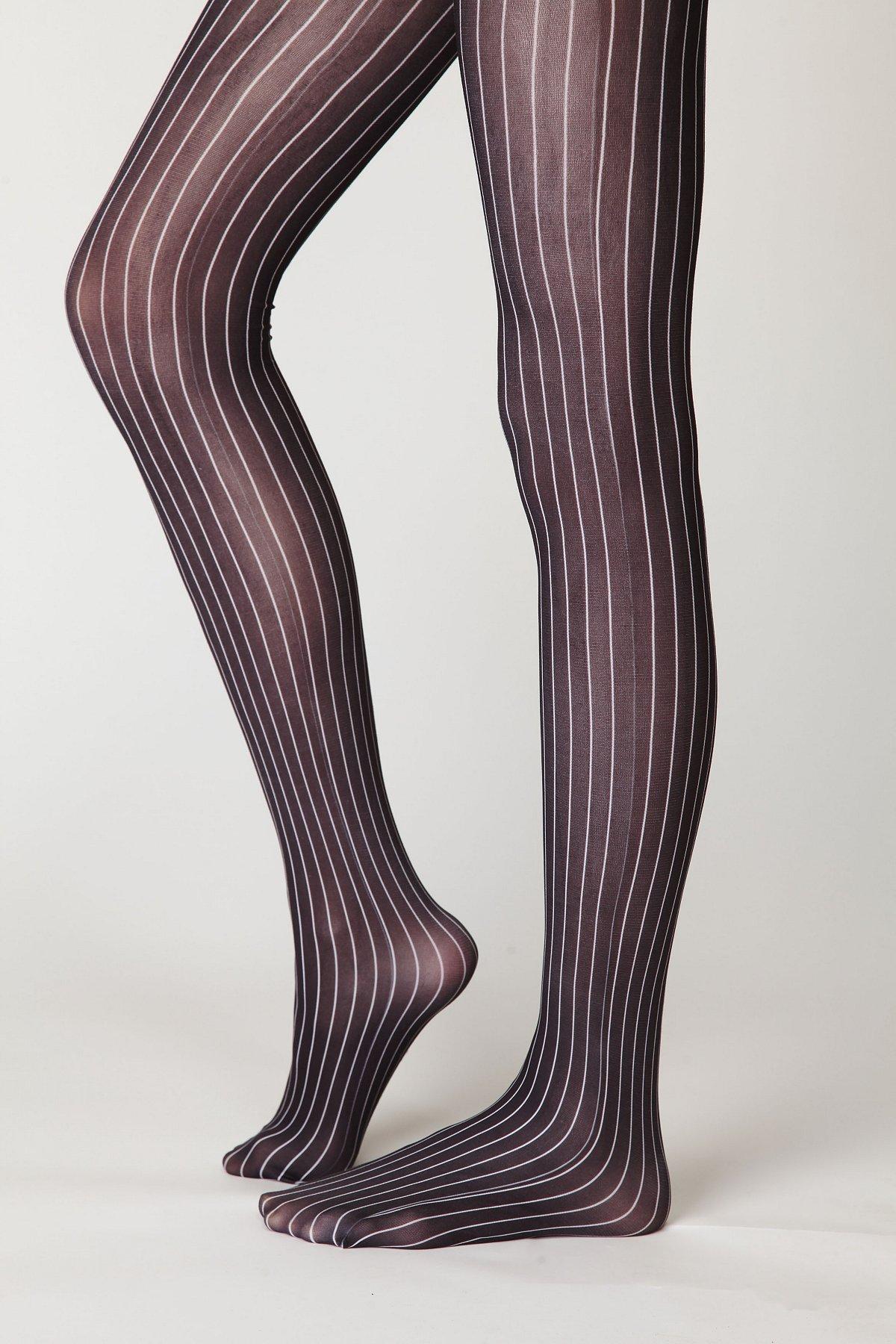 Pin Stripe Tights