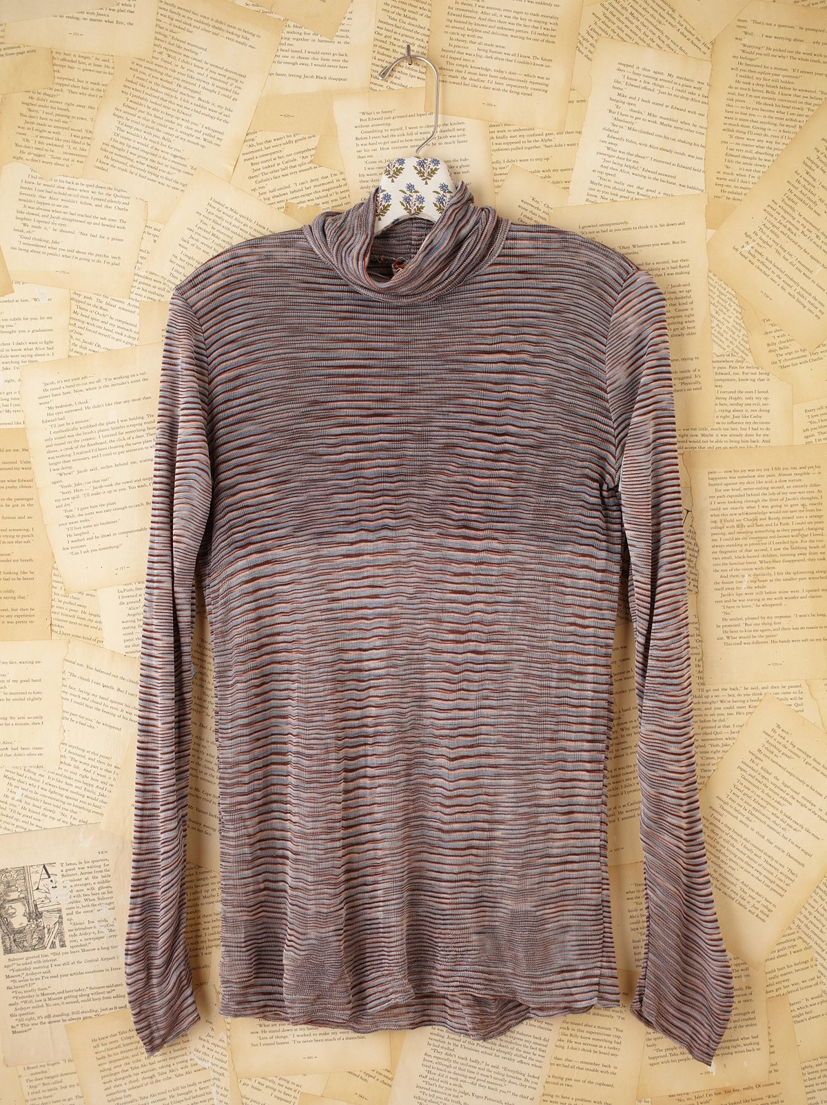 Vintage Missoni Turtleneck