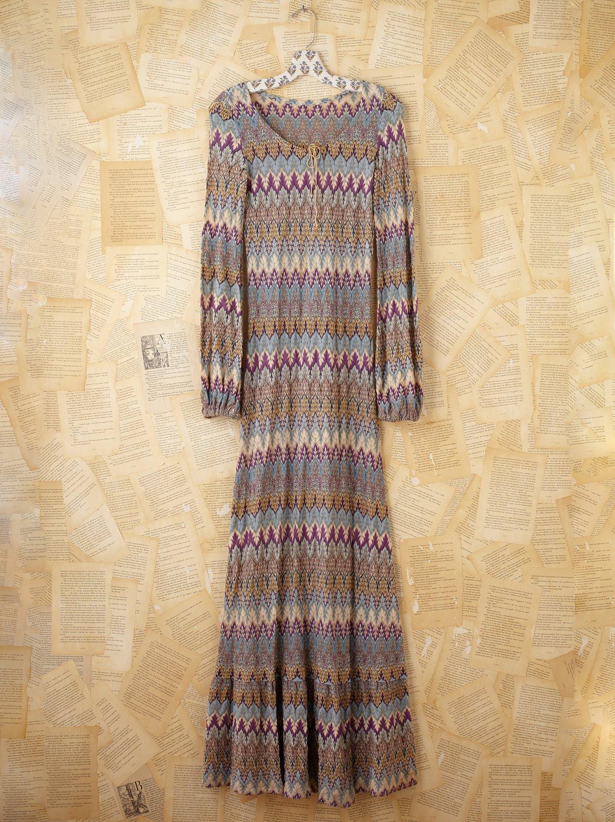 Vintage Missoni Knit Dress