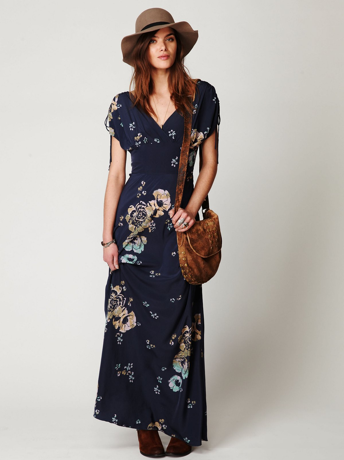 Stardust Short Sleeve Maxi Dress at Free People Clothing Boutique
