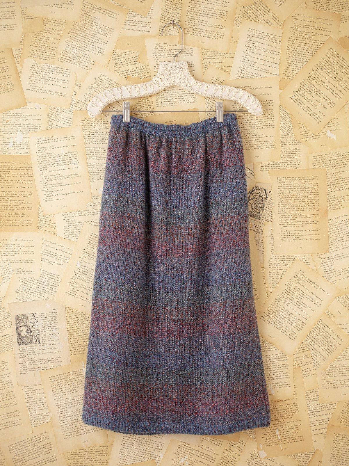 Vintage Missoni Mohair Skirt