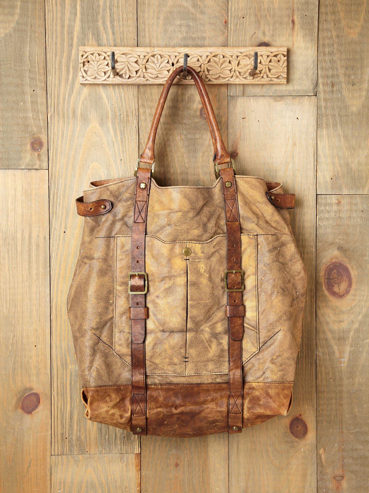 Jack Distressed Tote by A. Toy