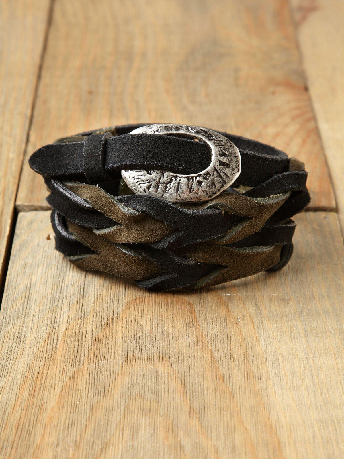 Suede Stone Aged Belt