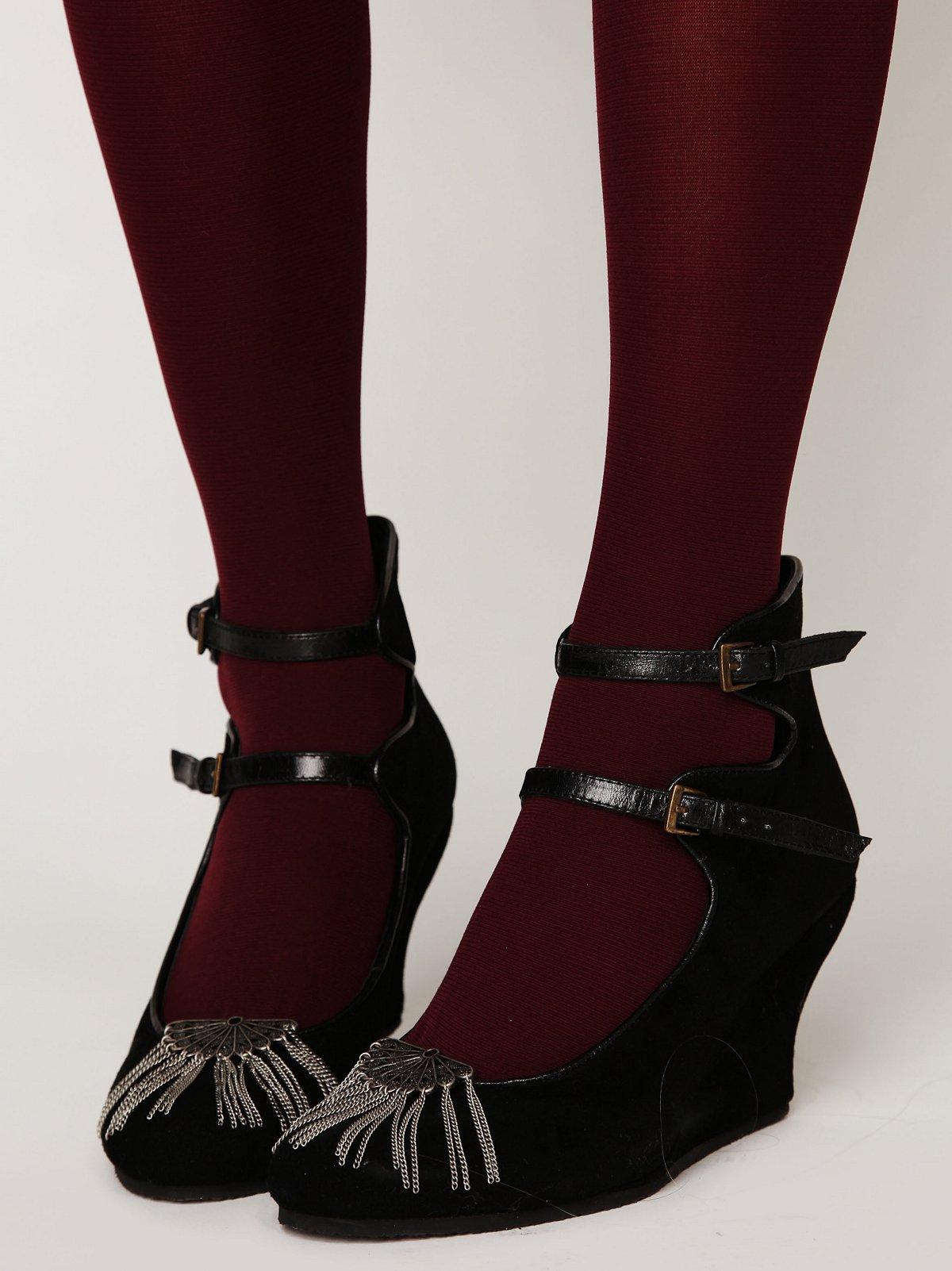 Flapper Fringe Shoe Clip