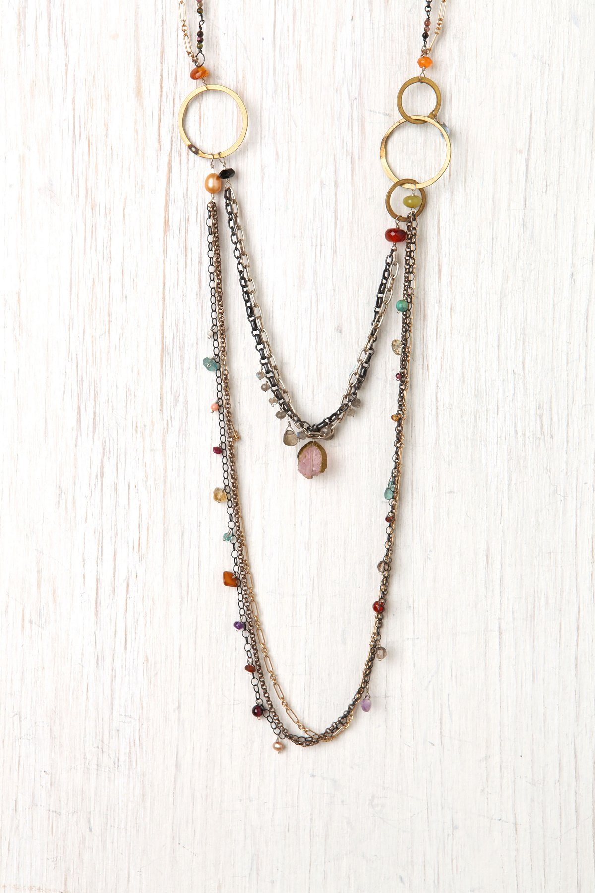 Gems & Chains Necklace