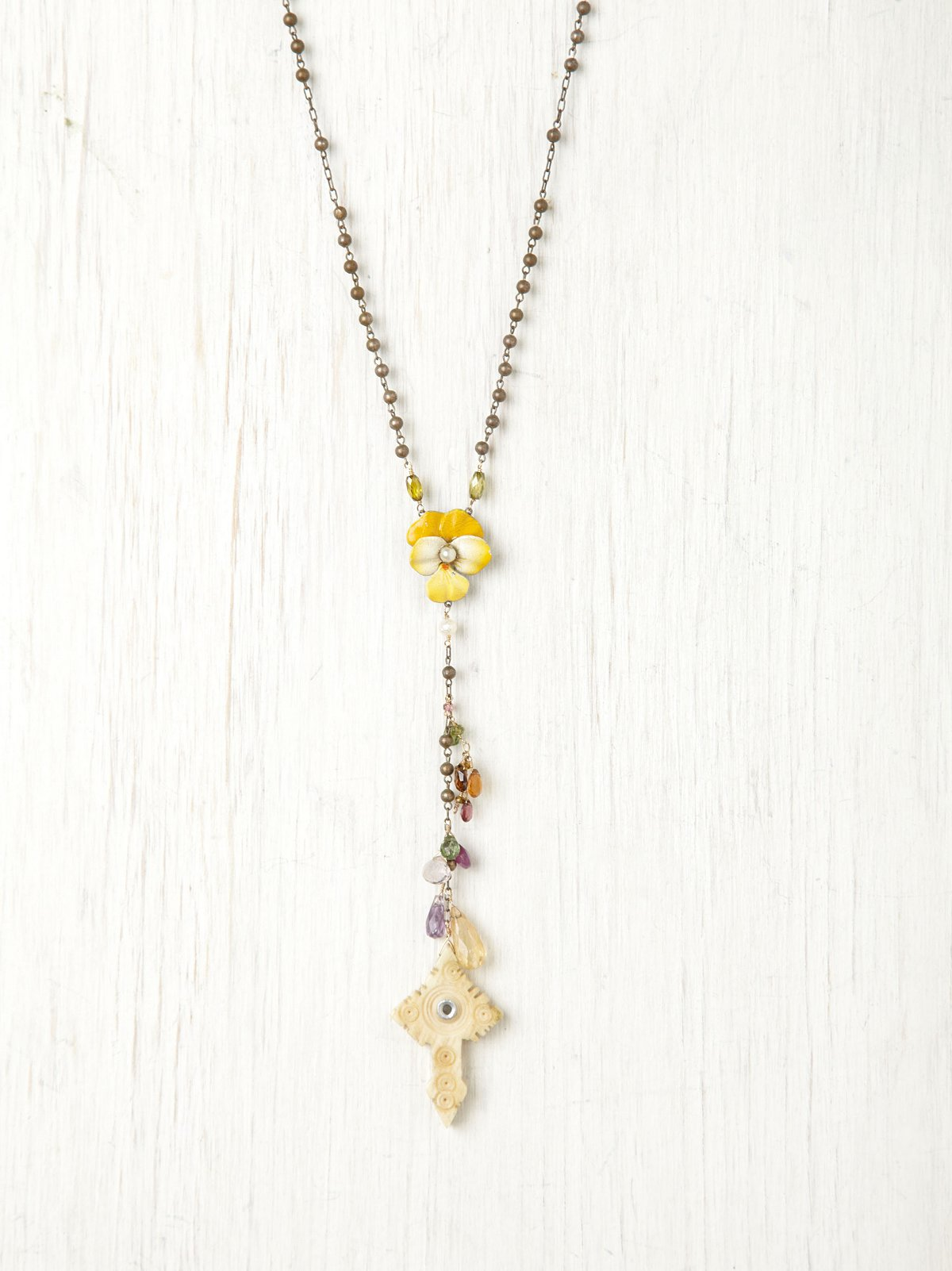 Yellow Flower Rosary