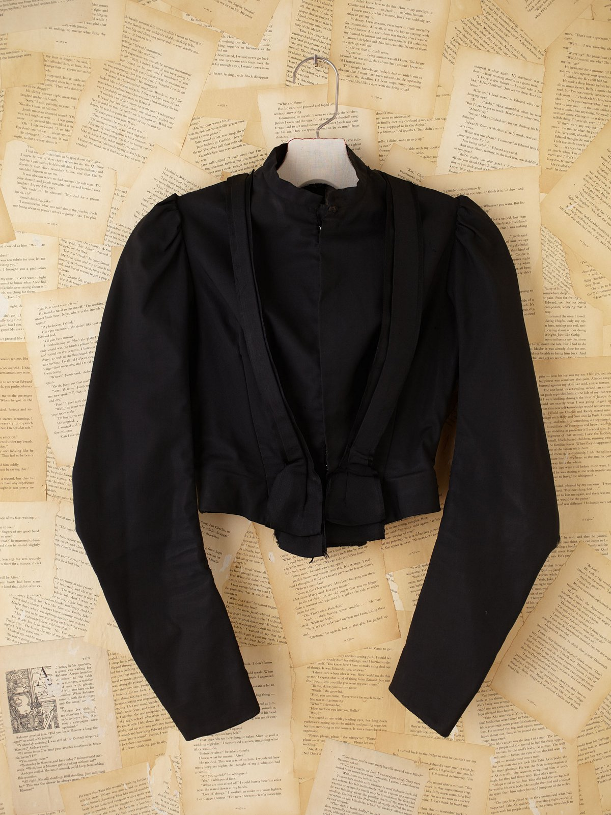 Vintage Silk Victorian Jacket