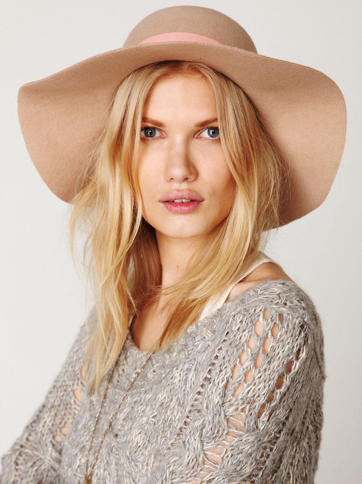 Jane Wide Brim Hat