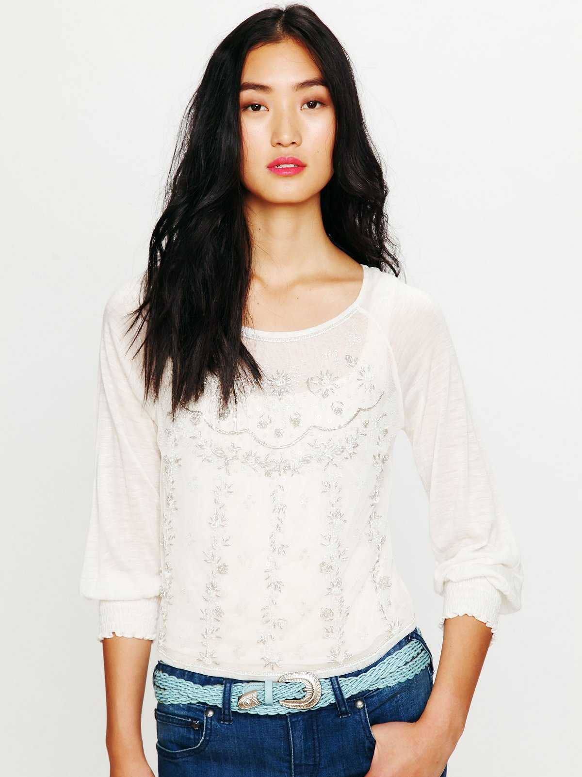 Candy Embellished Top