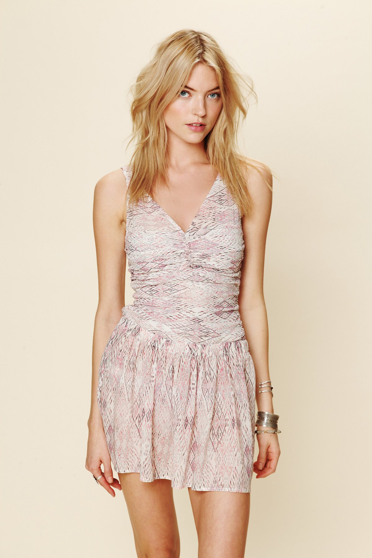Killona Print Mesh Dress