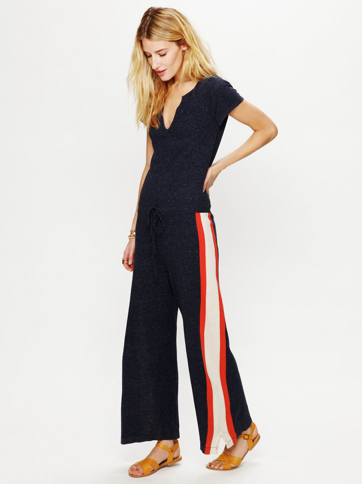 Silk Terry Tracksuit Romper