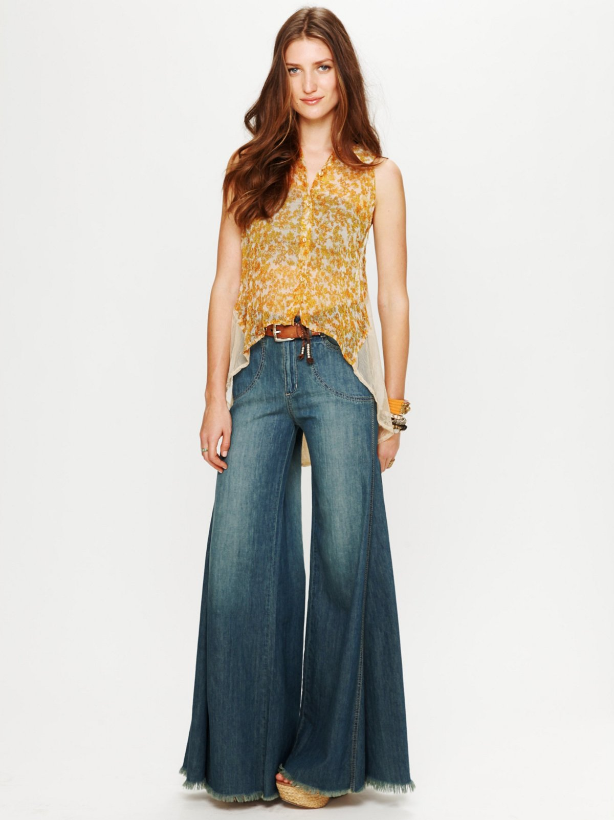 High Waisted Extreme Vintage Flare