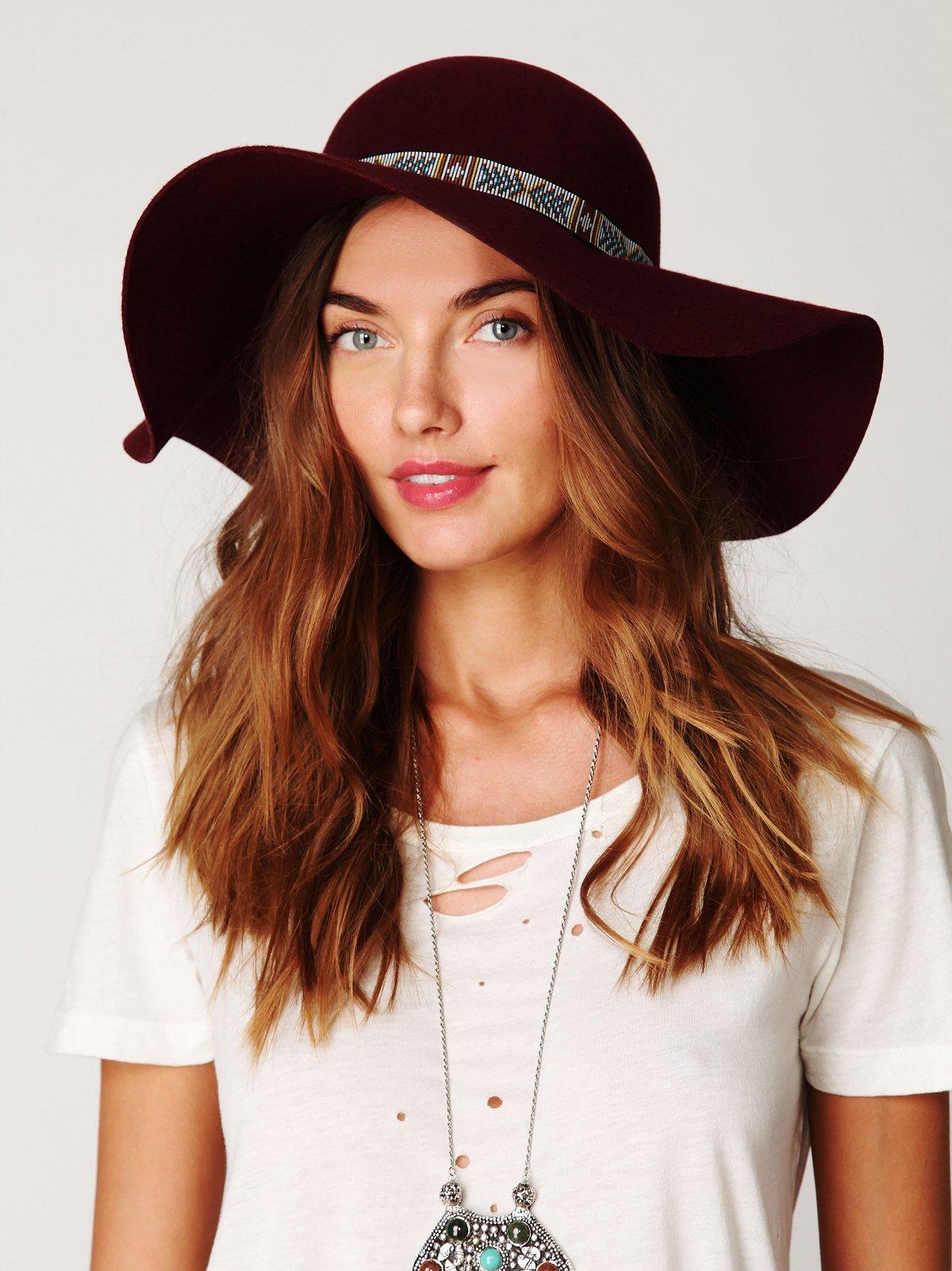 Morocco Felt Floppy Hat