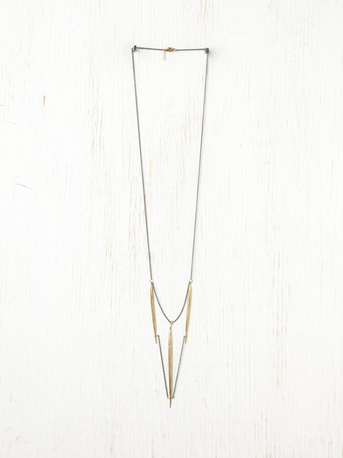 Gilded Quill Necklace