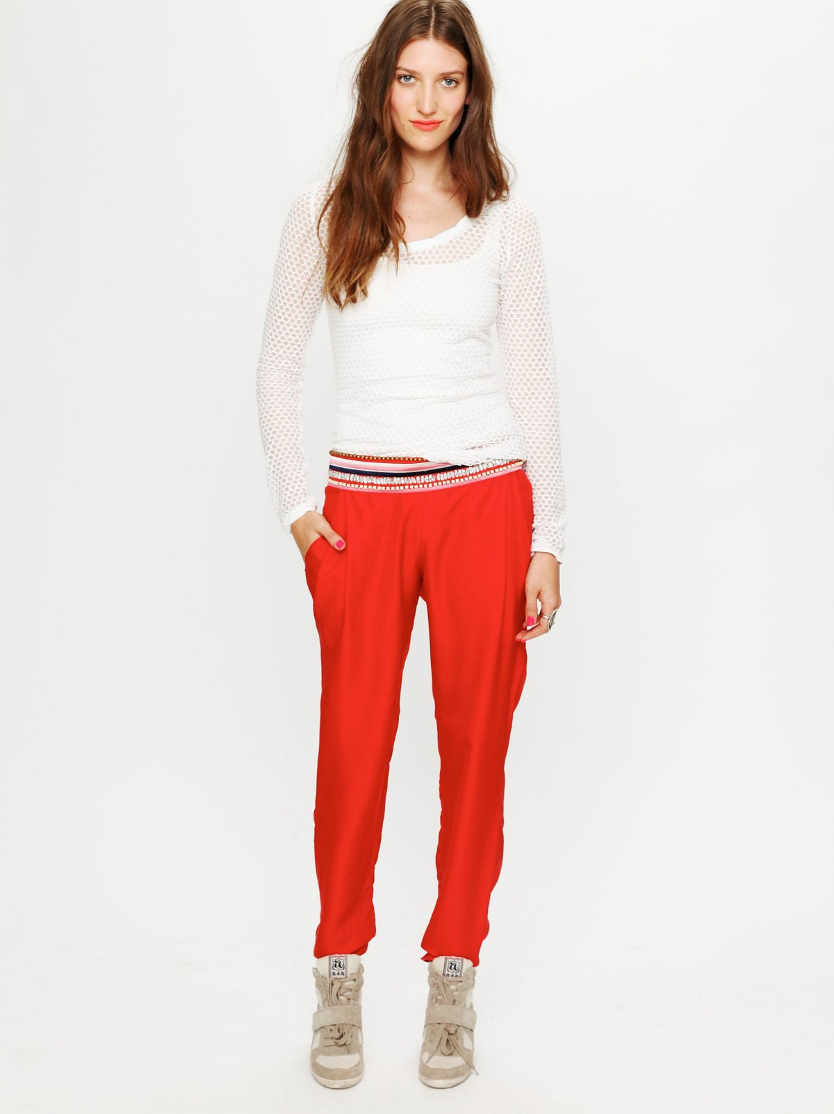 What Comes to Mind Embellished Pant