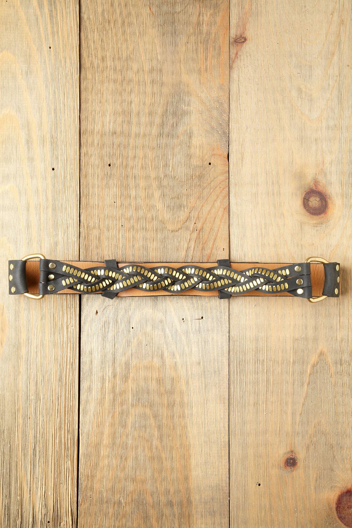 Braided Biker Belt