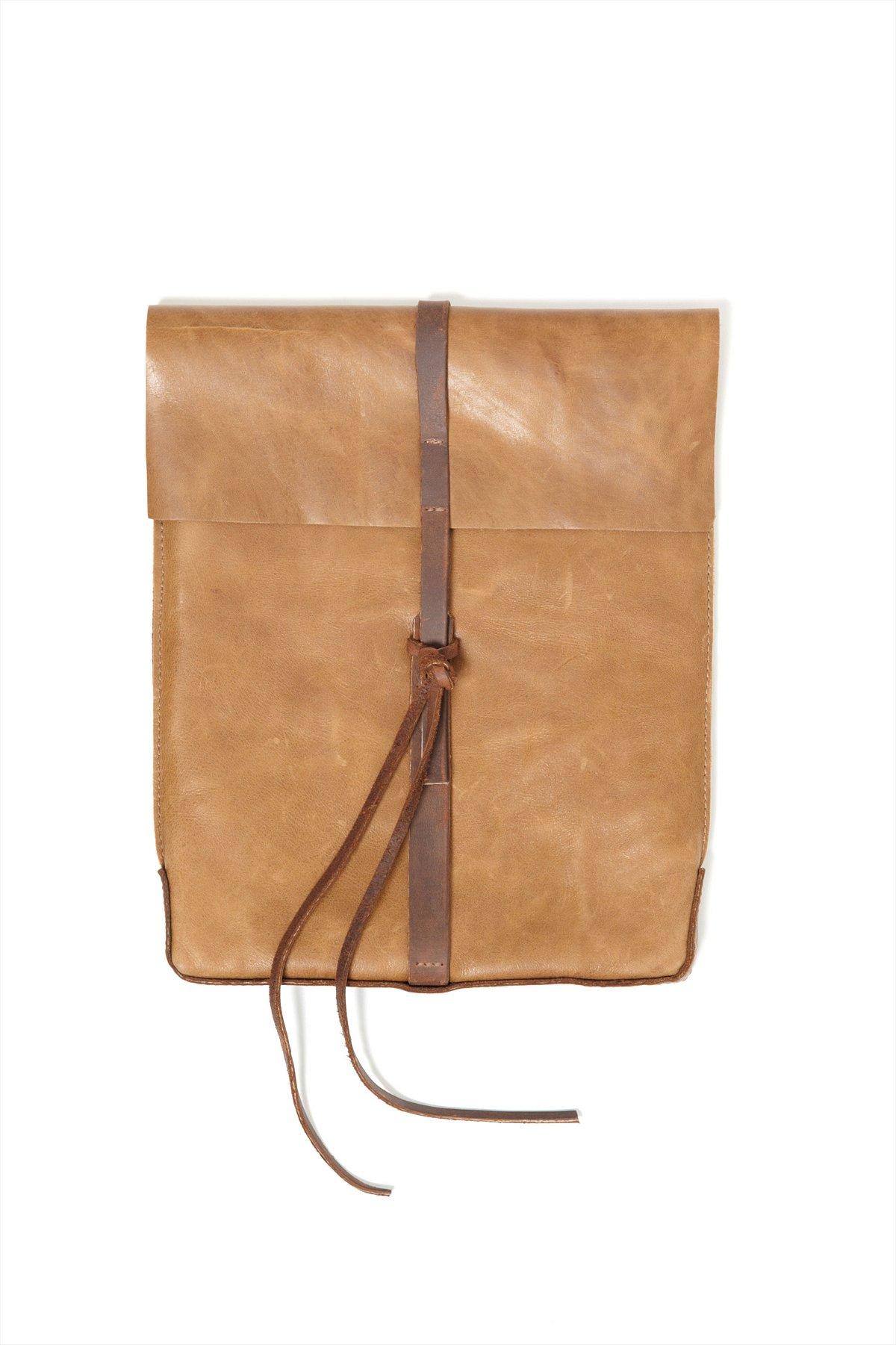 Saddle Leather iPad Case