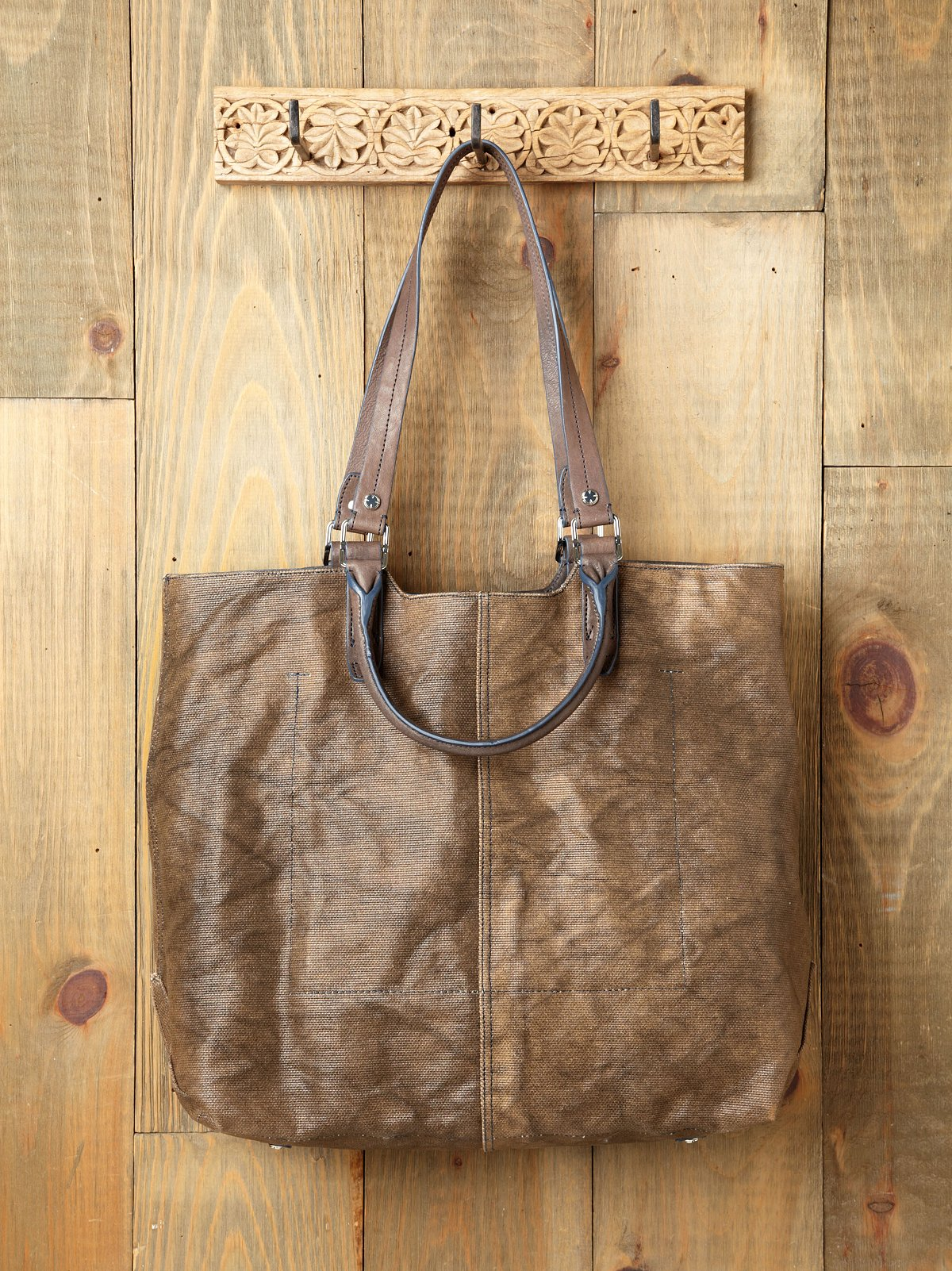 Max Distressed Tote by A. Toy