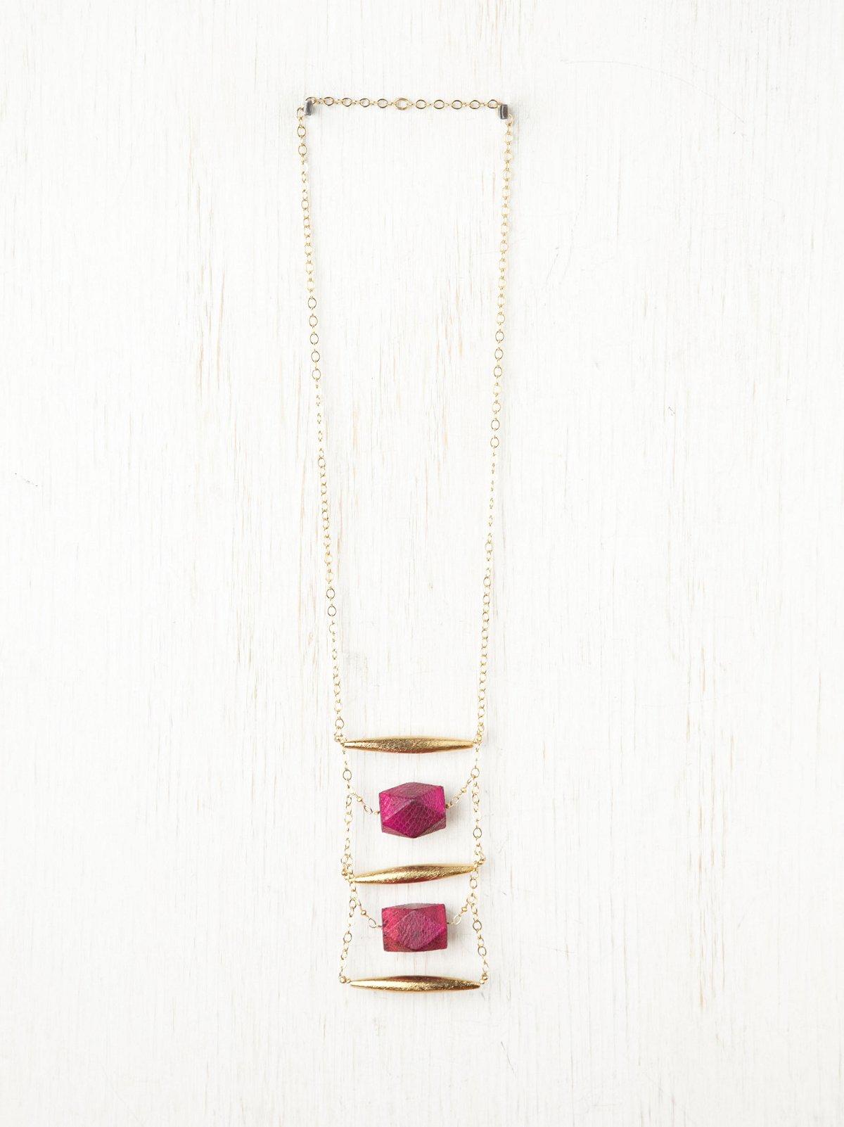 Mamba Ladder Necklace
