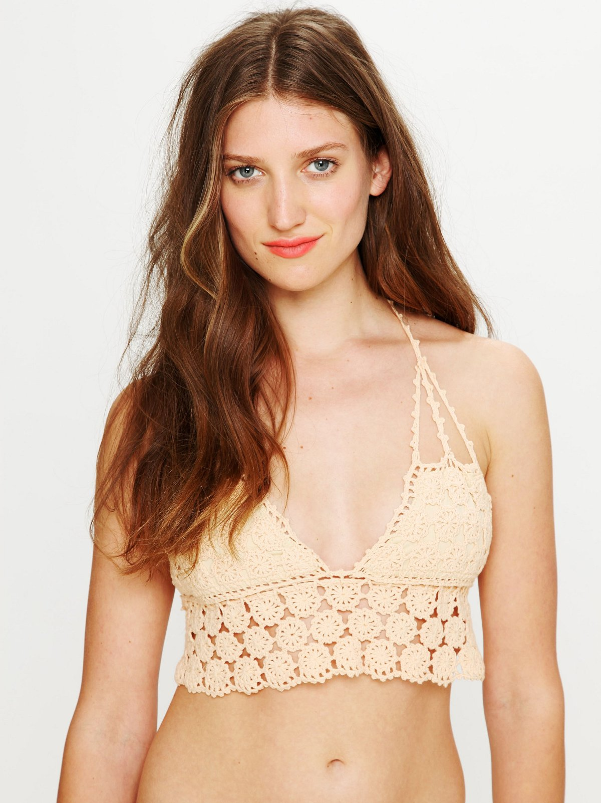 Daisy Crochet Bikini Top