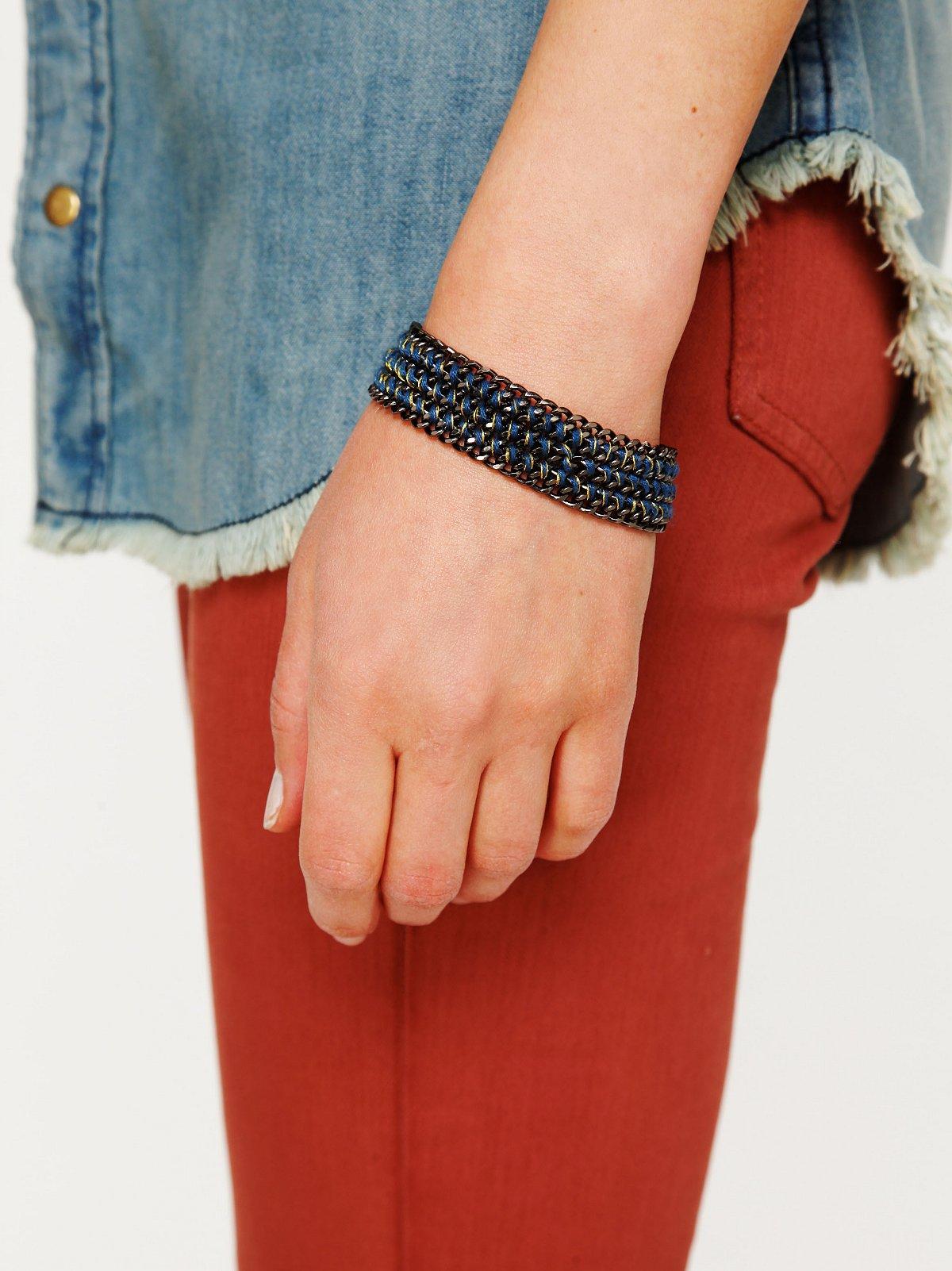 Threaded Chainlink Bracelet
