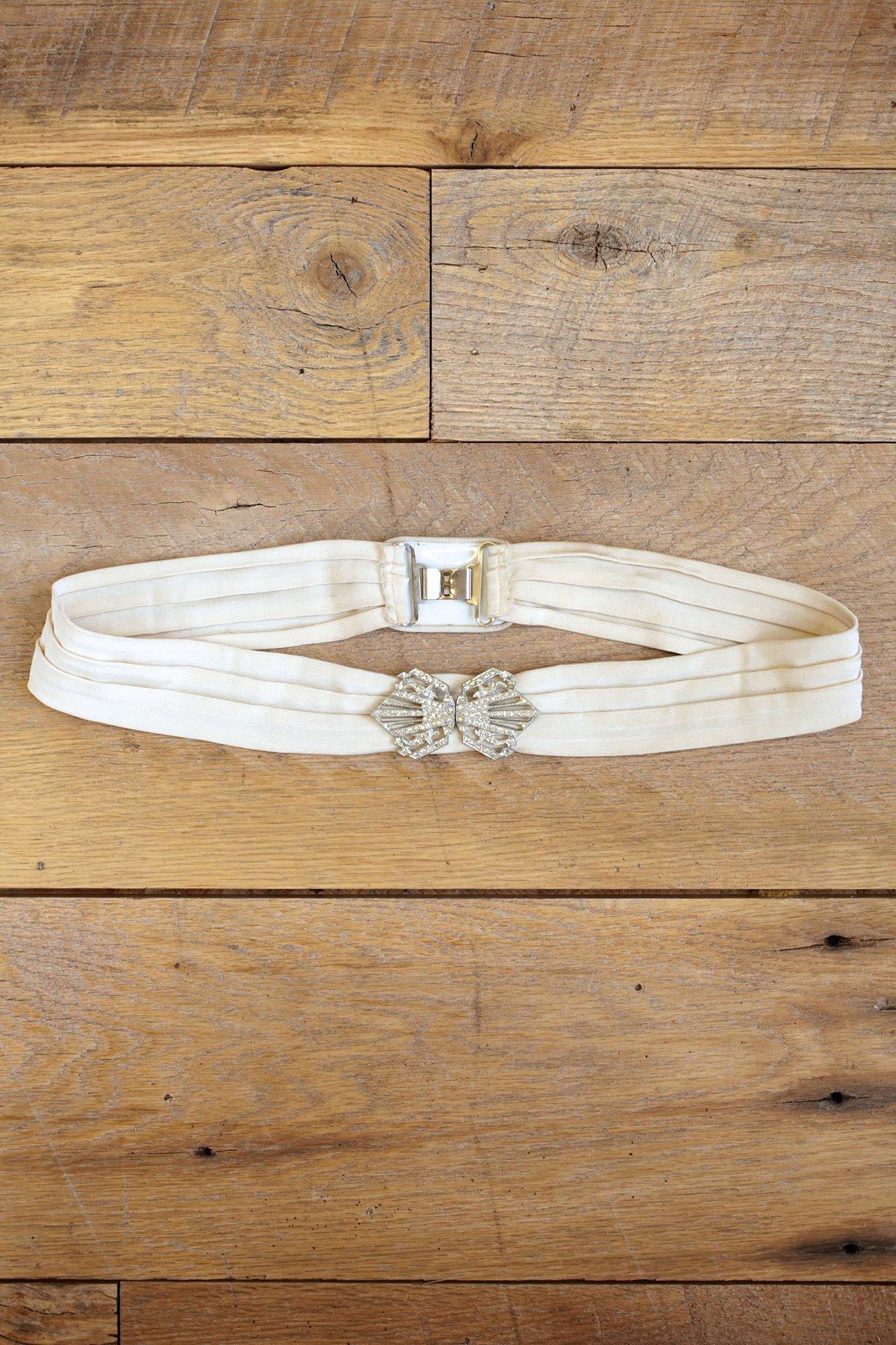 Vintage Ribbon Belt