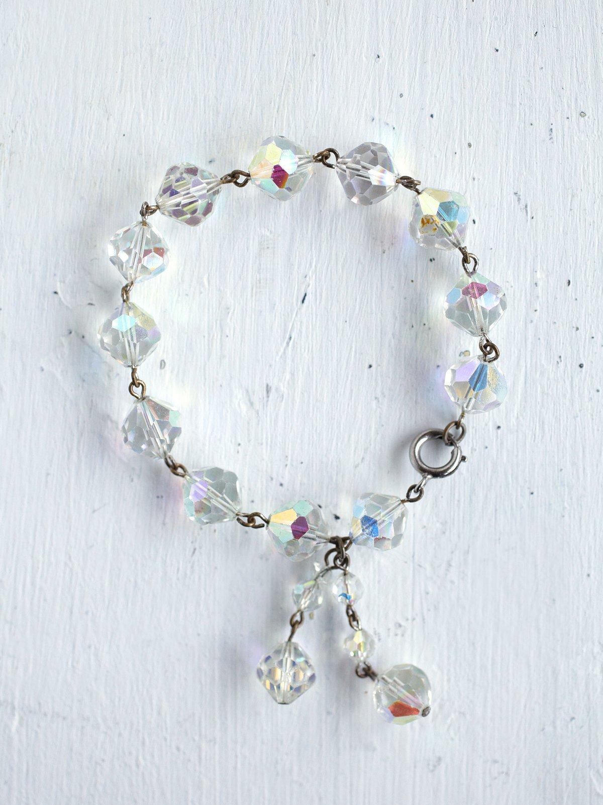 Vintage Austrian Crystal Bracelet