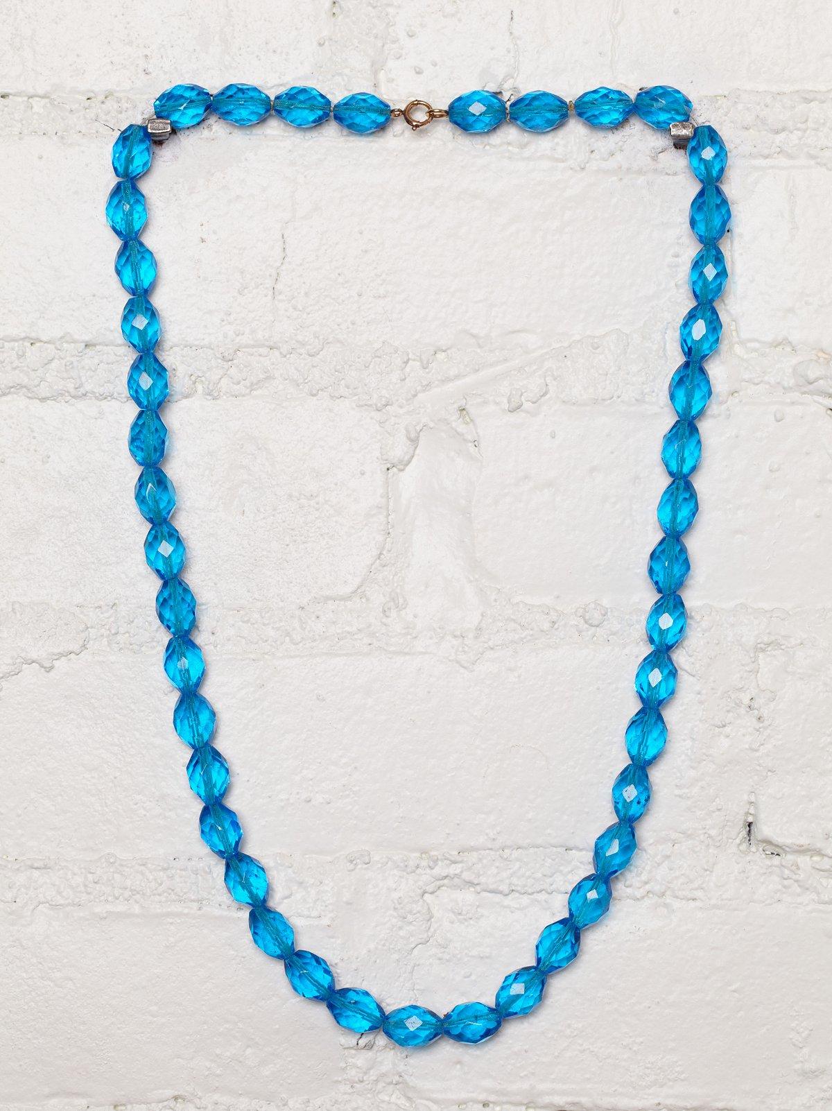 Vintage Austrian Crystal Necklace