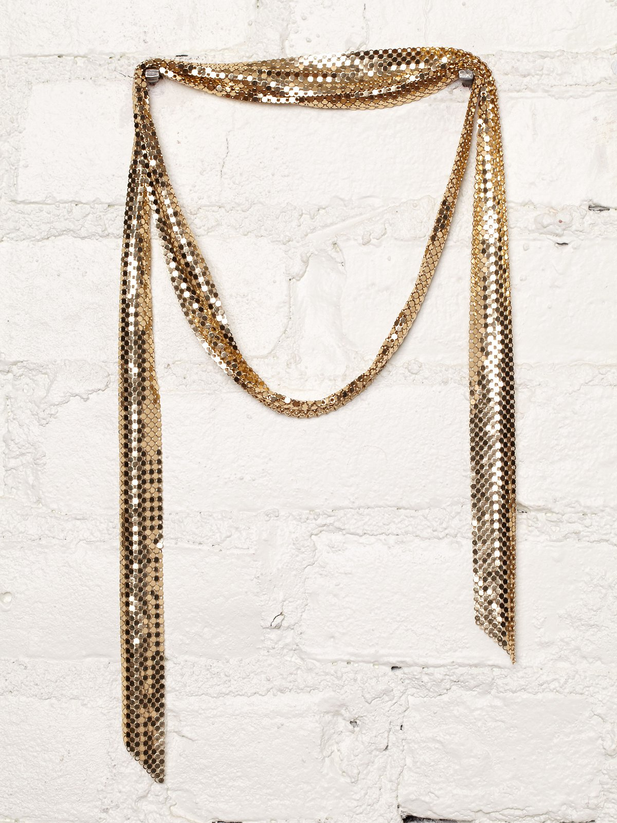 Vintage Chainmail Lariat