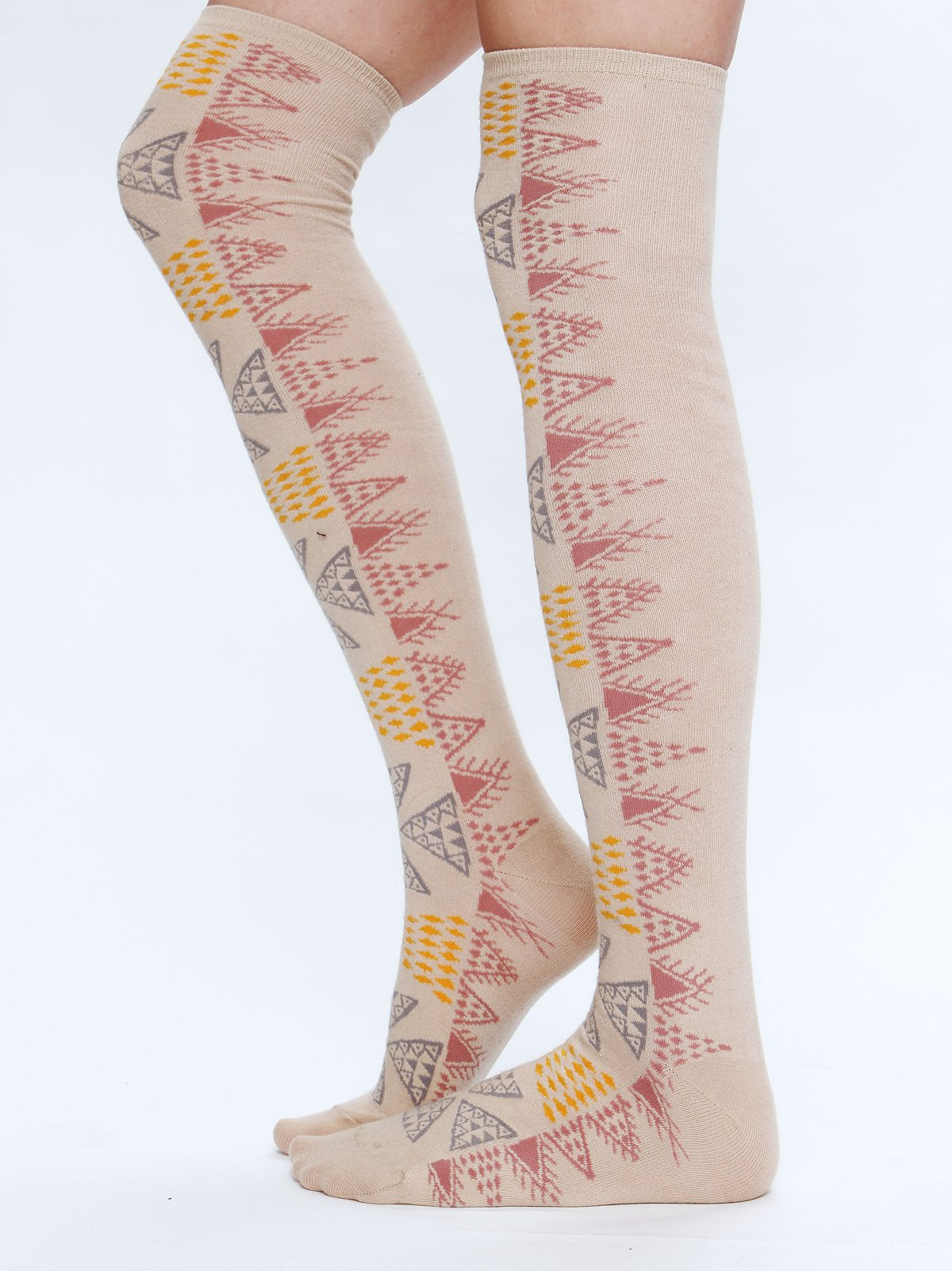 Aztec Tall Sock
