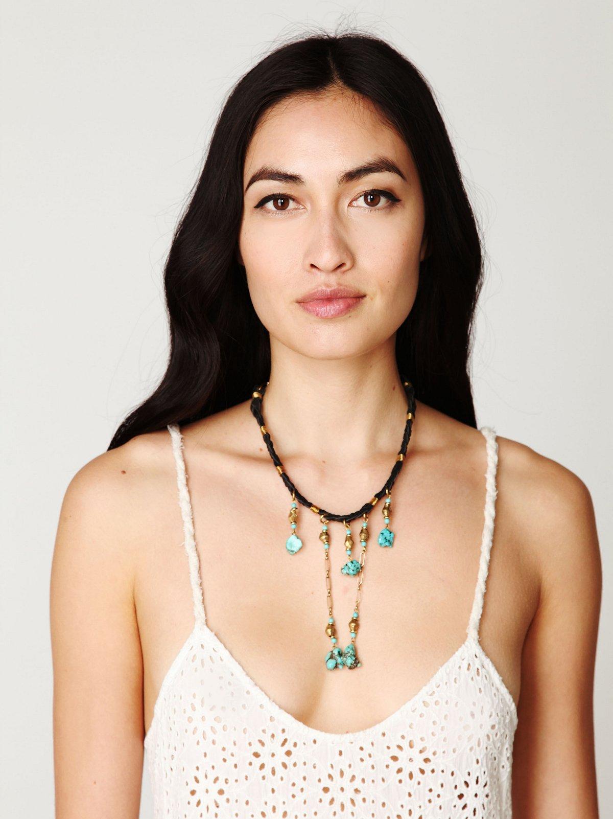 La Playa Turquoise Necklace