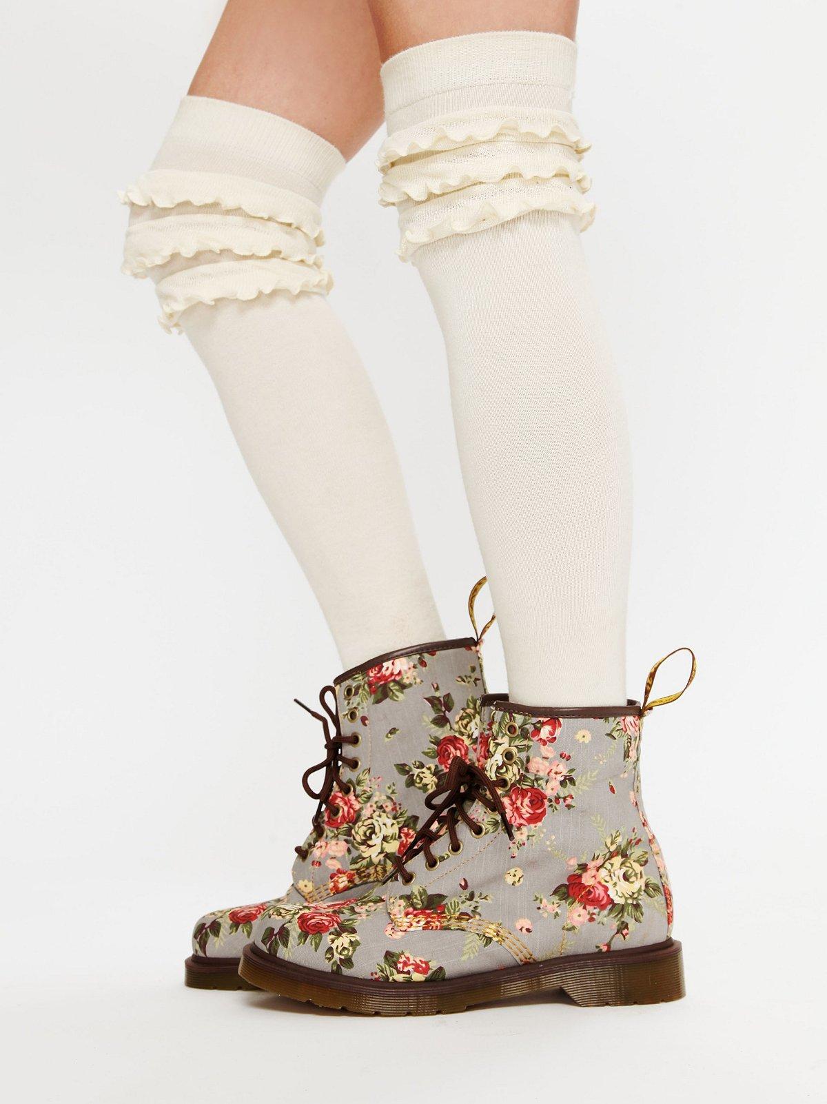 Floral Castel Boot