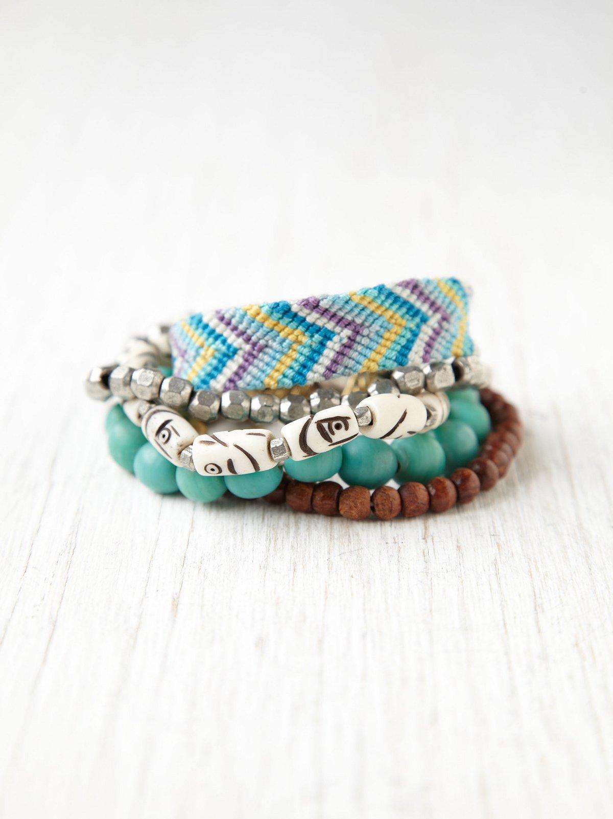 Silver Lake Bead Bracelet