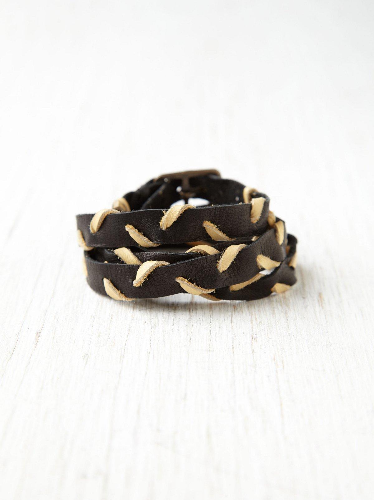 Chevron Wrap Bracelet