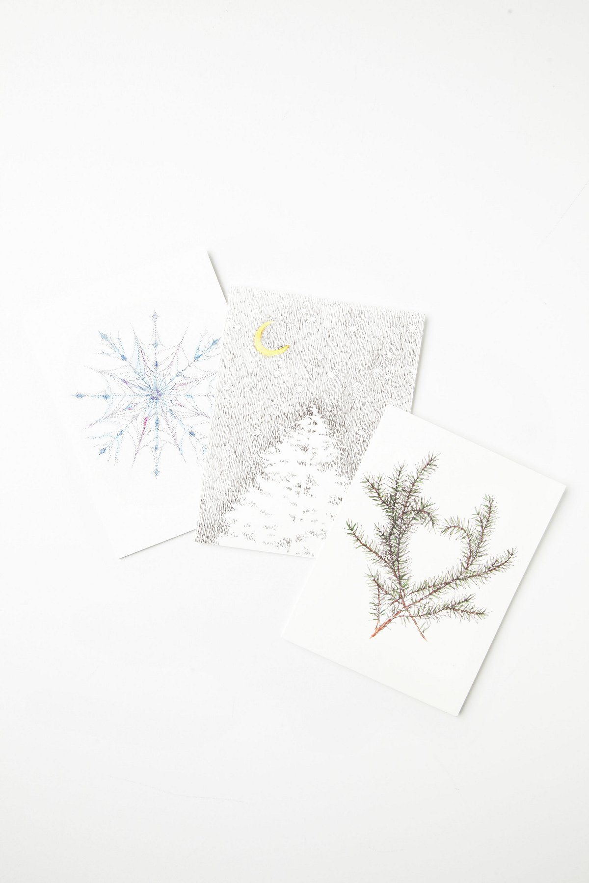 6 Card Pack of Holiday Sketches