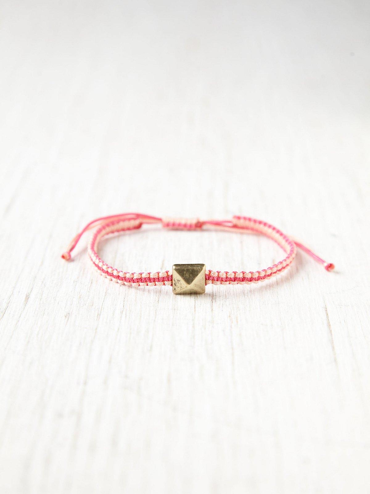 Auburn Pyramid Bracelets