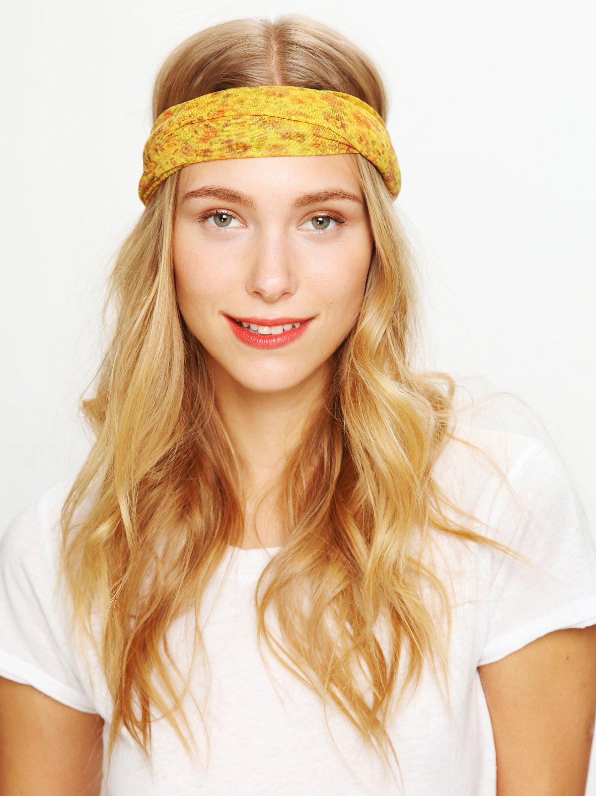 Floral Garden Headwrap