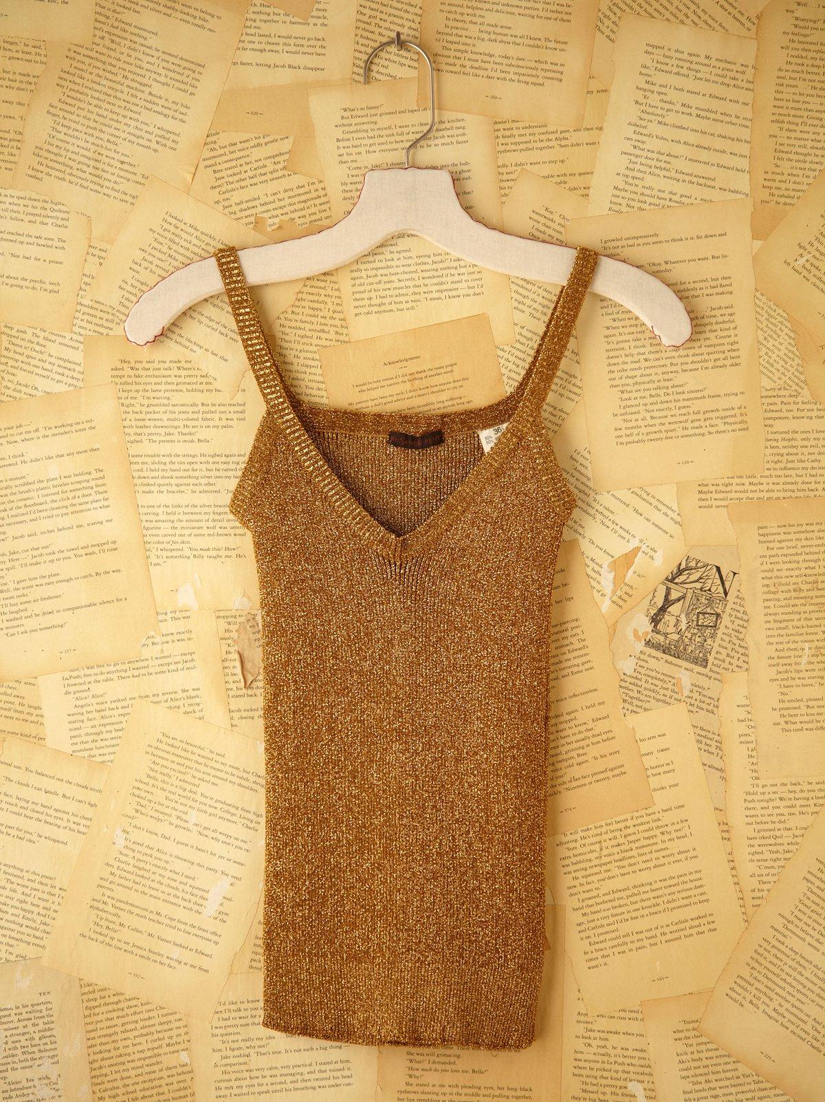 Vintage Yves Saint Laurent Knit Tank