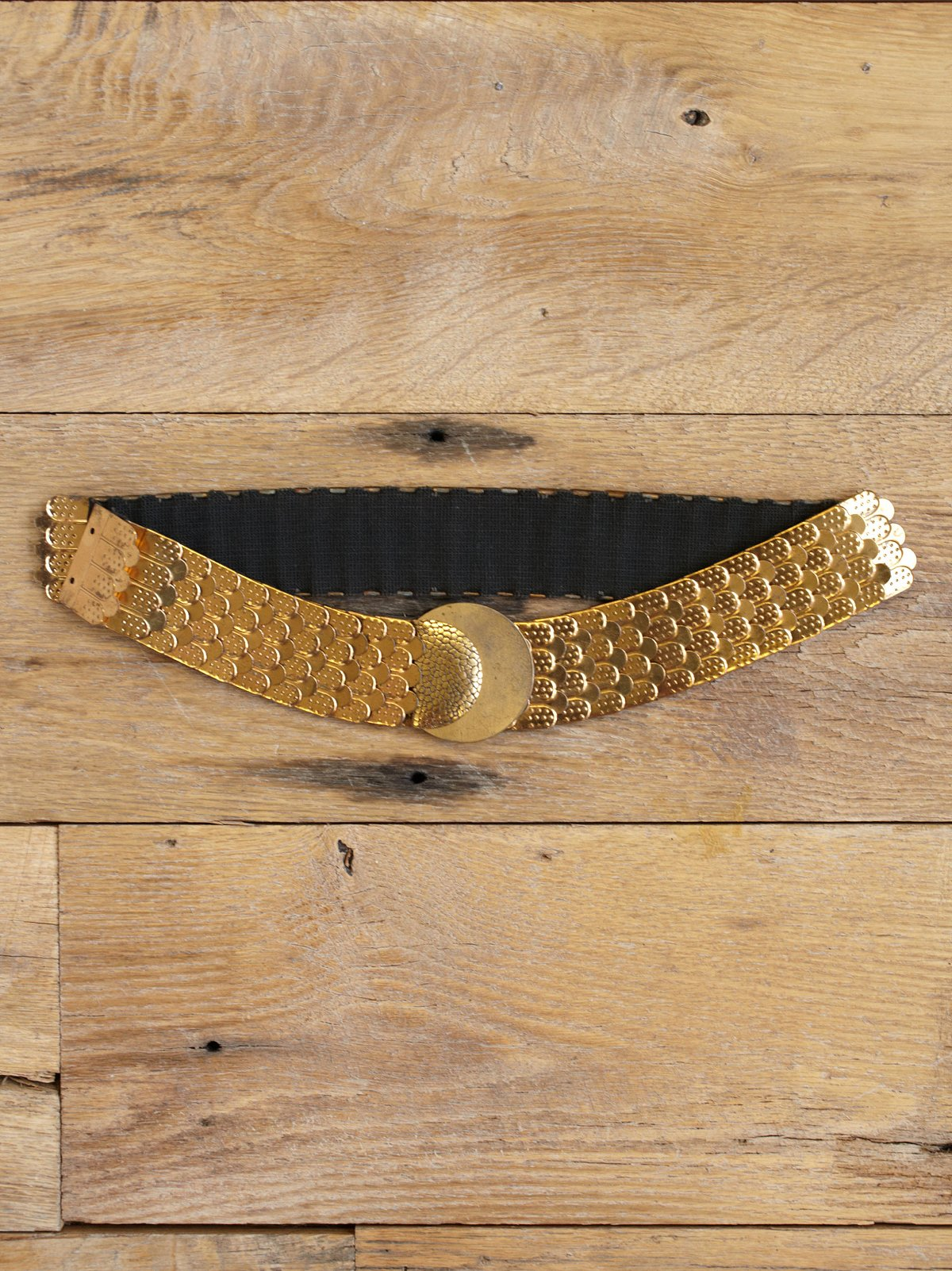 Vintage Fishscale Retro Belt