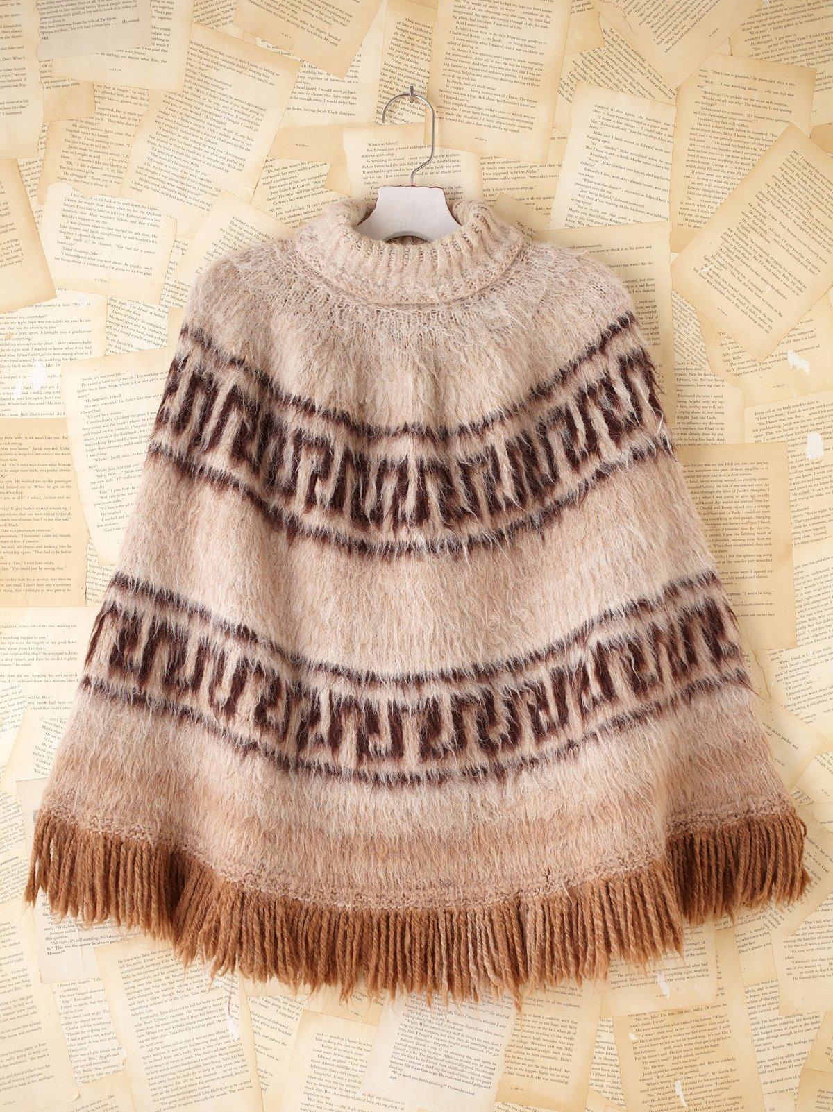 Vintage Bolivian Poncho