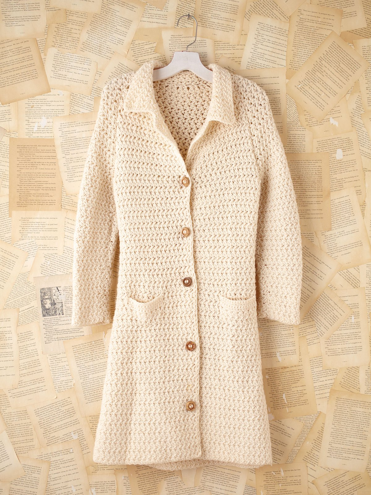 Vintage Sweater Jacket
