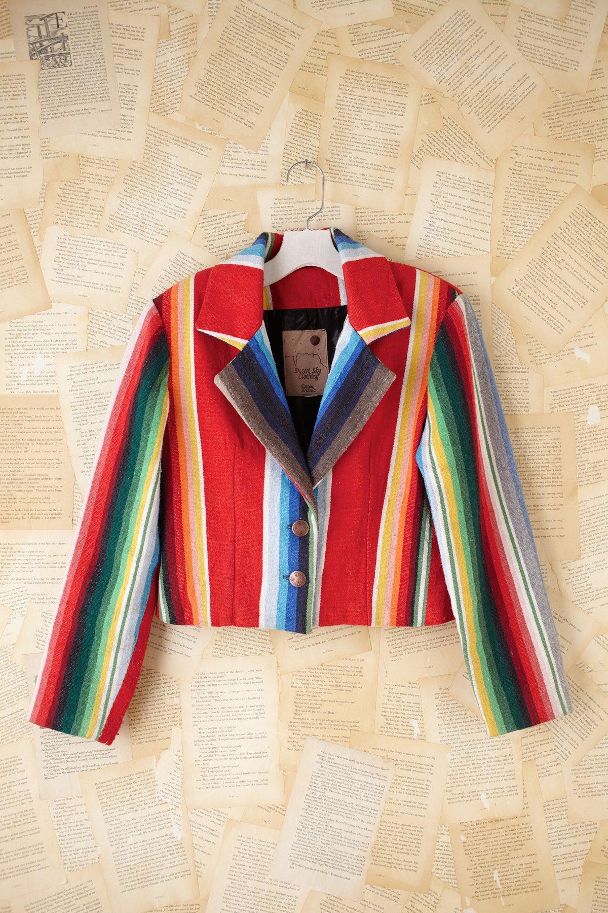 Vintage Printed Jacket