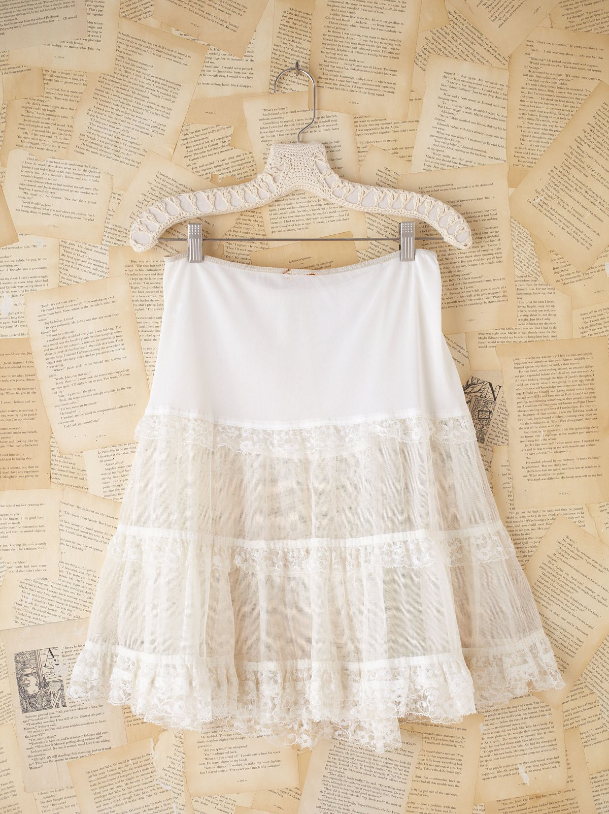 Vintage Lace Princess Skirt